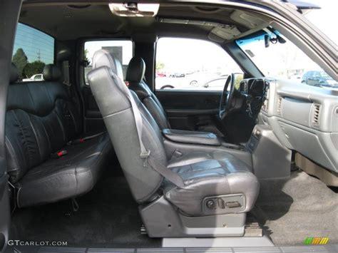 2000 Silverado Interior by Graphite Interior 2000 Chevrolet Silverado 1500 Z71