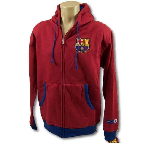 barcelona zip fc barcelona soccer zip front fleece hoodie sweatshirt
