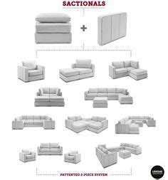 Lovesac Configurations - lovesac coolest of furniture it comes apart and you