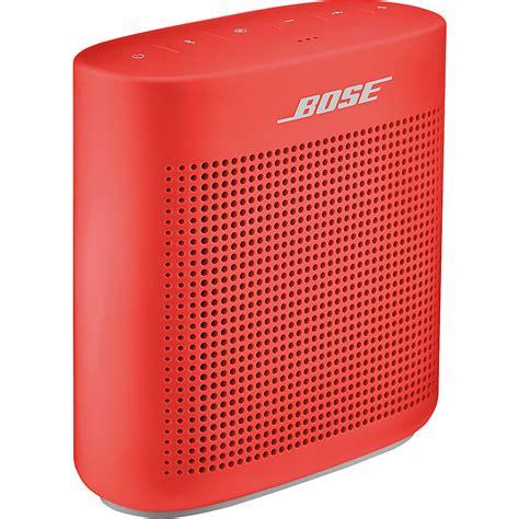 color speakers bose soundlink 174 color bluetooth 174 speaker ii 4 colors