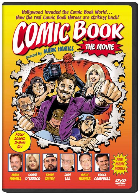 comic book picture mockumentaries