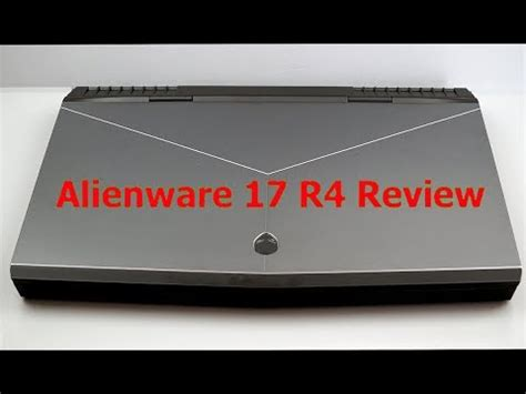 alienware 17 r4 aw17r4 17 3 qhd i7 6700hq 8gb gtx 1070 unboxing review