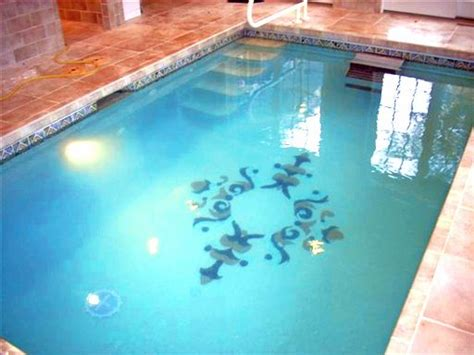 Glass masterpiece accent custom mural for bottom of pool custom pools pinterest tile