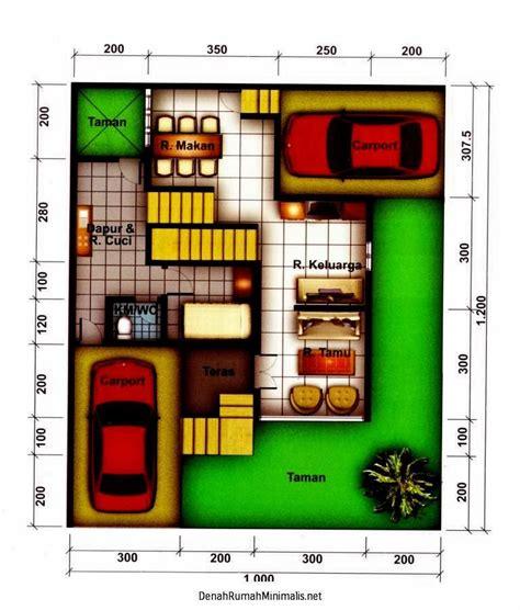 denah rumah minimalis ukuran 6x9 rumah minimalis