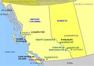 southwest canada map 50 plus dc southwest canada