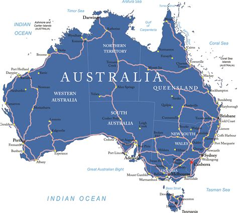 map of australia with states australia map and states wichweight