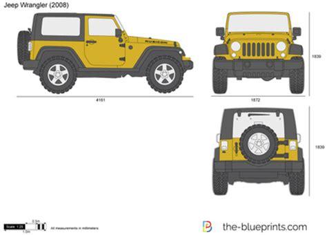 jeep wrangler vector drawing