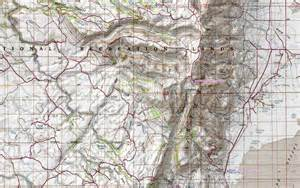 oregon map mountains hiking in southeastern oregon the steens mountain and the