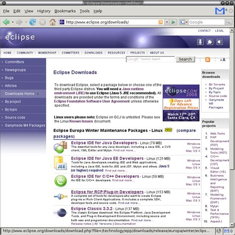 java eclipse full version free download cyberinfrastructure shell cishell env setup browse