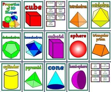 printable shapes display unit 11 3 d shapes weight volume capacity mrs