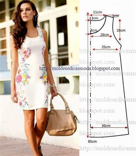 vestido facil de hacer vestido casual floral passo a passo do corte e costura