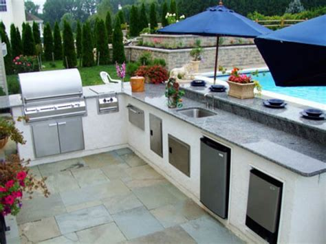outdoor kitchen cabinet plans exterior design