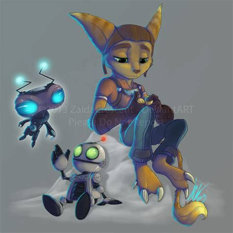 the art of ratchet ratchet and clank by zaidacrescent on