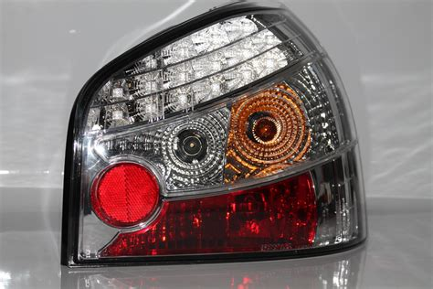 Led R Ckleuchten Audi A3 by Led R 252 Ckleuchten F 252 R Audi A3 8l 96 00 In Chrom