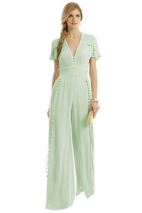 jumpsuit to a wedding joplin jumpsuit by marchesa voyage for 55 rent the runway