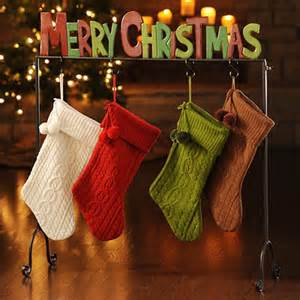 Christmas Stocking Floor Stand Charming Christmas Stocking Holder Stands Homesfeed