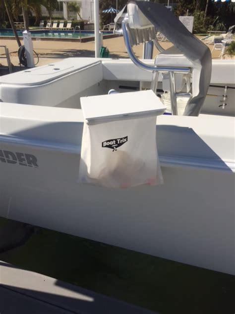 boat trash bag holder boat trash bag with adjustable height and angle rod holder