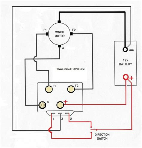 ramsey winch wiring diagram efcaviation