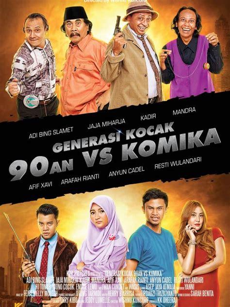 film lucu kadir ada arafah rianti di poster film generasi kocak 90 an vs