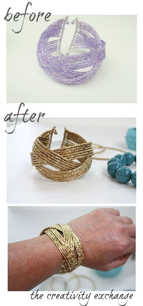 spray paint jewelry diy transform junk jewelry with enamel spray paint