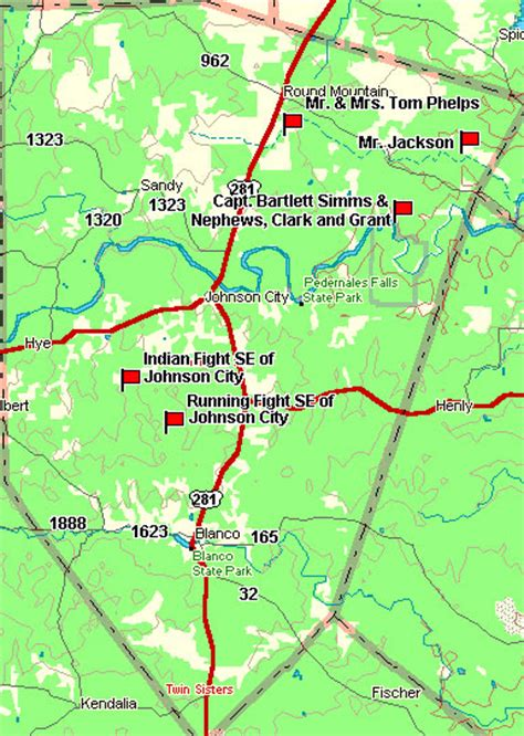 blanco county map fort tours blanco county