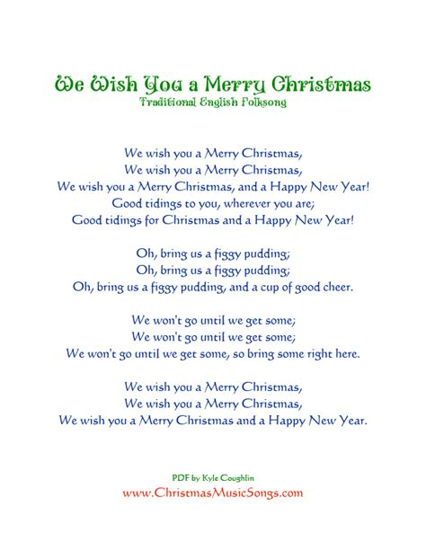 testo we wish you a merry search results for we wish you a merry lyrics