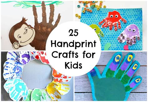 photo crafts for simple handprint crafts for