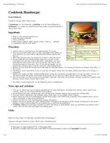 Receta de wikibooks cookbook