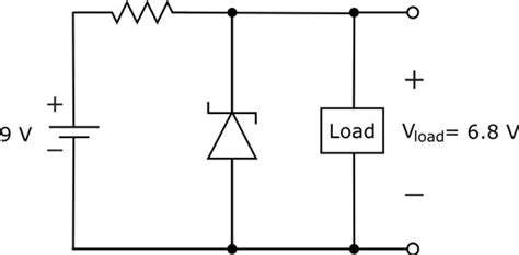 zener diode with no load regulate voltage with zener diodes dummies