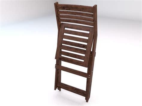 Applaro Folding Chair by Applaro Outdoor Folding 3d Model