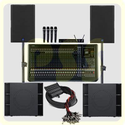 Speaker Untuk Sound System paket sound system 6600 watt turbosound paket sound