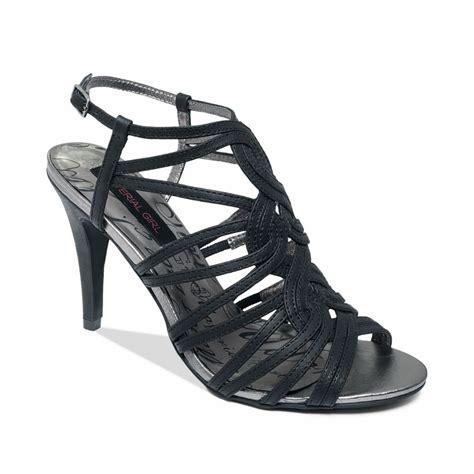 Black Sandals Heels black strappy sandal heels www pixshark images