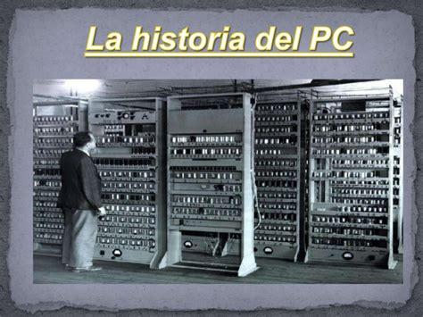Liena Gamis linea tiempo de la computadora