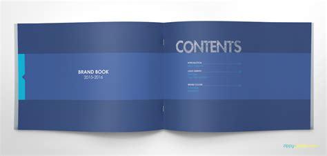 Free Brand Guidelines Template Brandbooks Zippypixels Brand Book Template Free