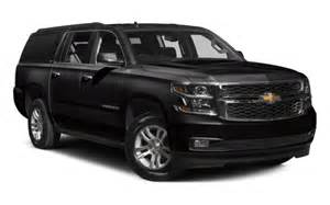 2017 chevrolet suburban to end the year in a black suit