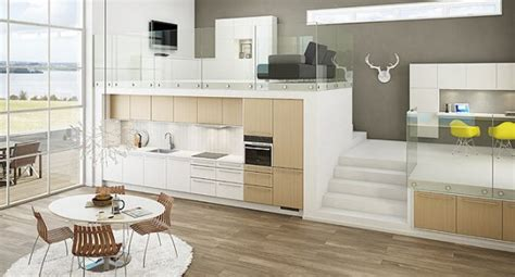 bar höhe kitchen island cucine nordiche ideare casa