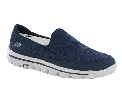 skechers s sneakers new mens skechers go walk 2 comfort plimsolls shoes