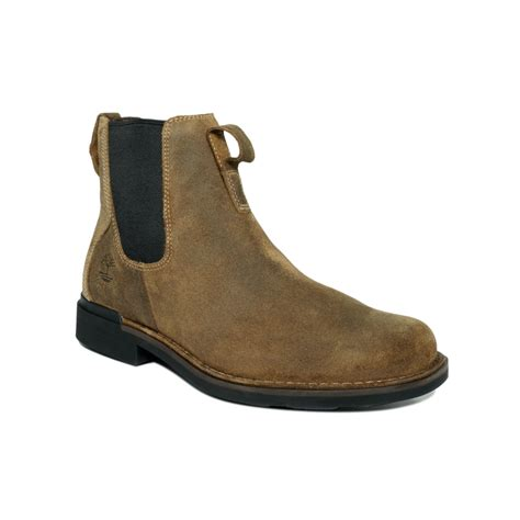 mens waterproof chelsea boots timberland mt washington waterproof chelsea boots in brown