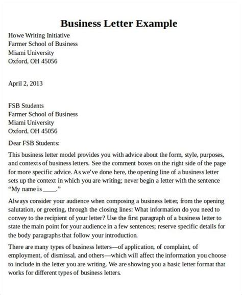 business letter format types 2 page business letter layout letters free sle letters