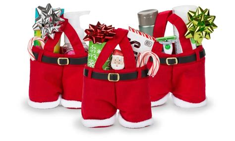 santa gift bags 3 pack groupon goods