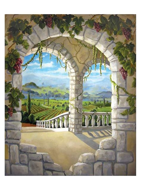Wine Wall Murals italy wine mural of wine racks amp custom wine cellars