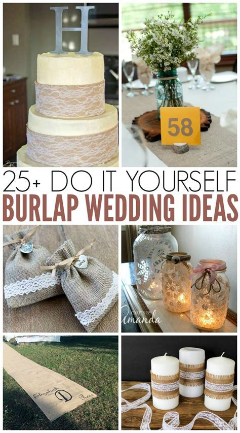 Burlap Wedding Ideas   perfect for rustic weddings!   The
