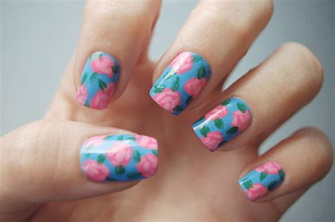 Floral Nail Sticker abstract floral nail stickers nail