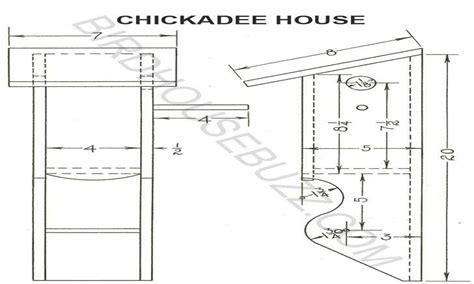 chickadee bird house hole size free chickadee bird house
