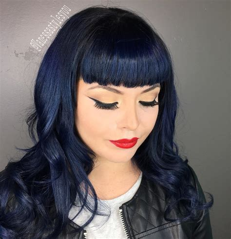 black hair with color how to choose a hair color for your skin tone