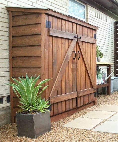 Small Garden Storage Ideas 25 Best Ideas About Outdoor Storage On Outdoor Storage Small Garage