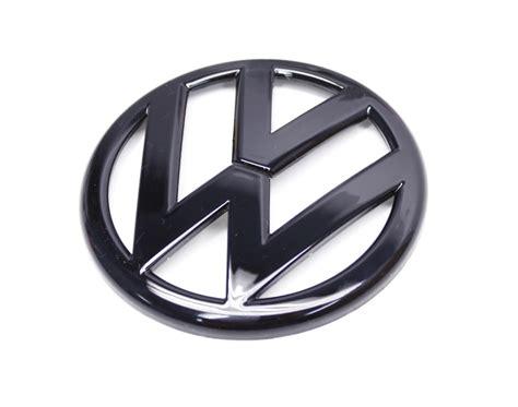 volkswagen logo black emblem vwg6 r black vw emblem rear mk6 golf gti