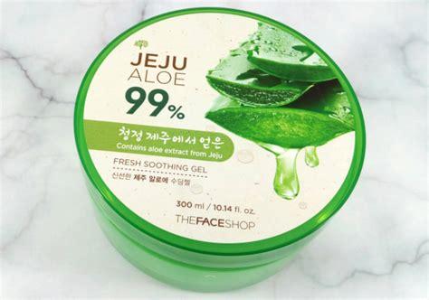 Jeju Aloe review the shop jeju aloe 99 fresh soothing gel