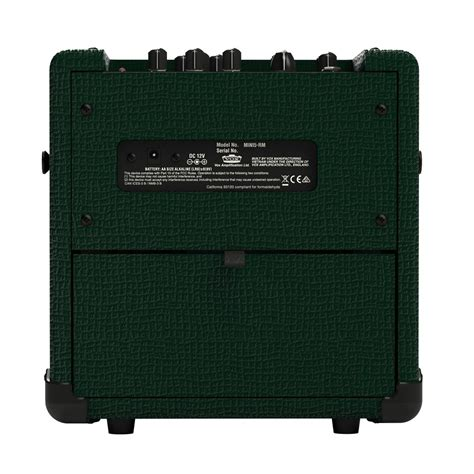 Vox Mini5 Rhythm Modeling Guitar Combo Lifier vox mini5 rhythm compact modelling guitar racing green at gear4music