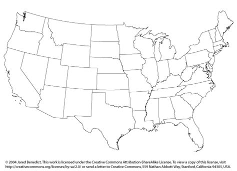 printable united states map without names usa map without labels my blog